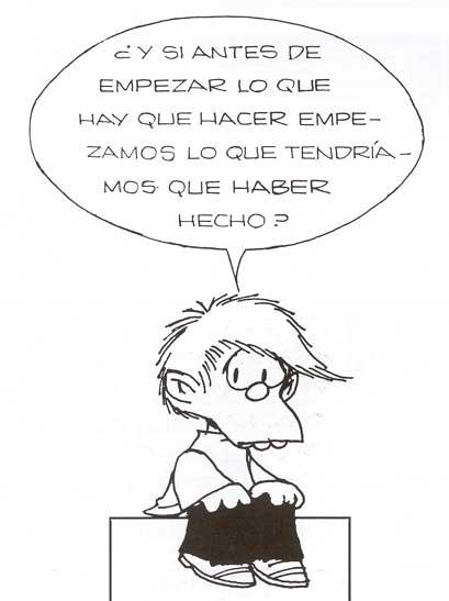 Autocontrol, el consejo de Felipe de Mafalda