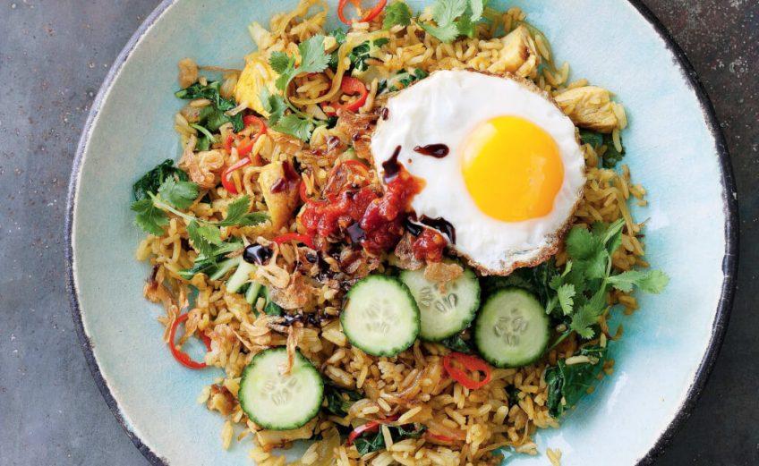 Asian Cuisine with Eggs