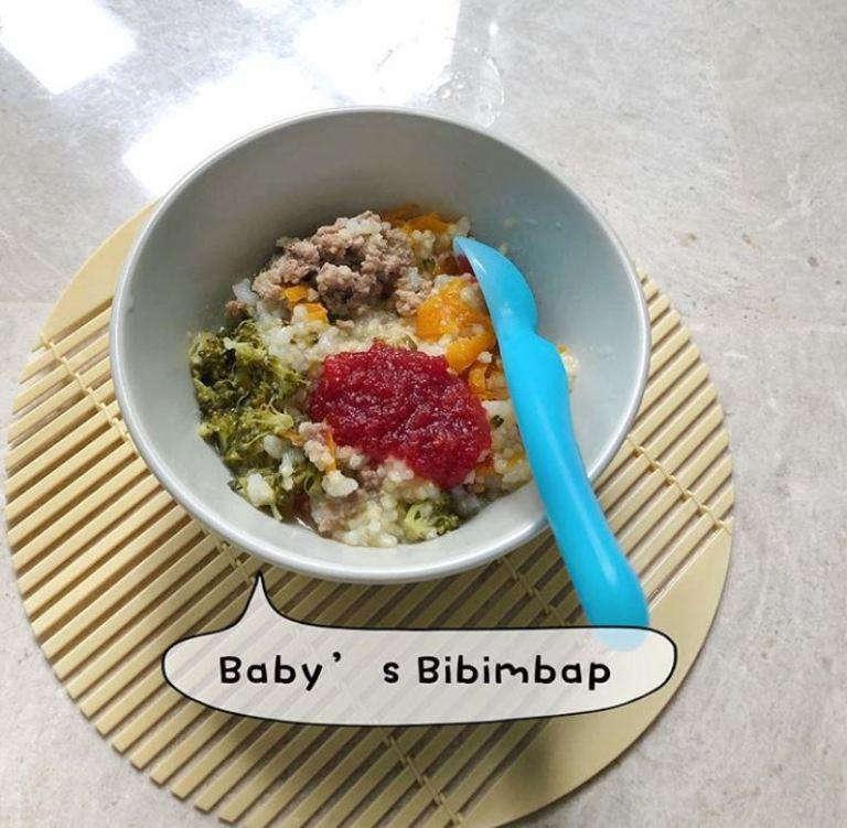 Baby's Bibimbap