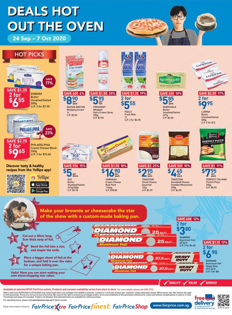Deals Hot Out The Oven FairPrice