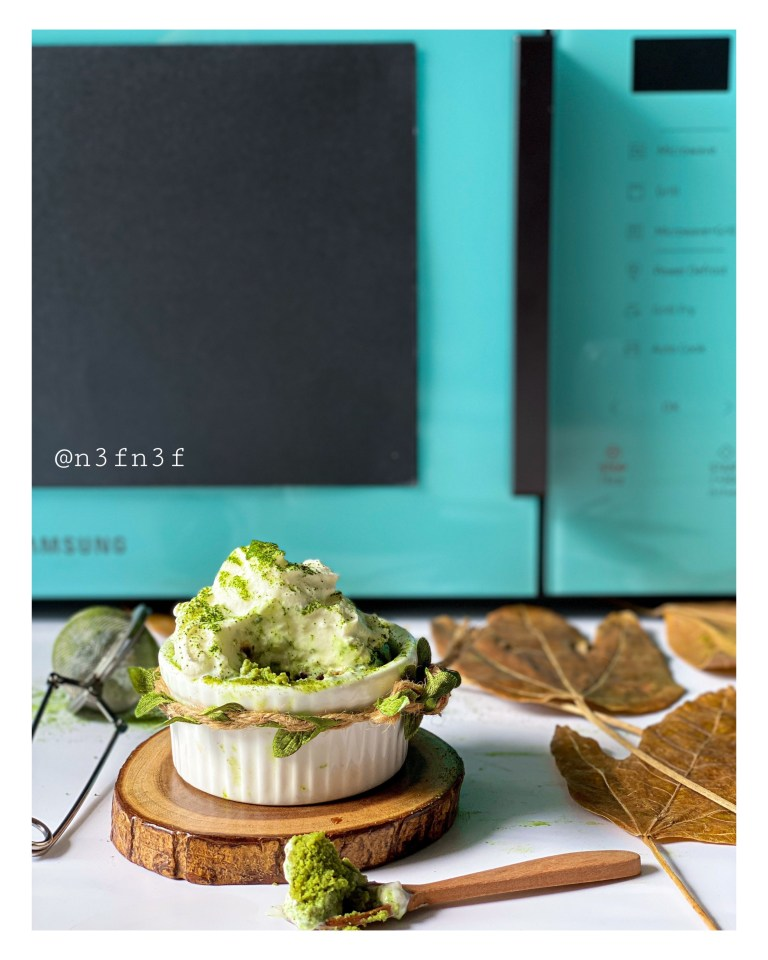 2 minutes Matcha Cup Cakes