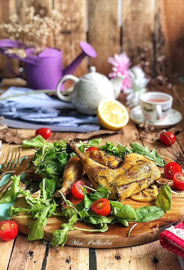 grill-fry rosemary chicken
