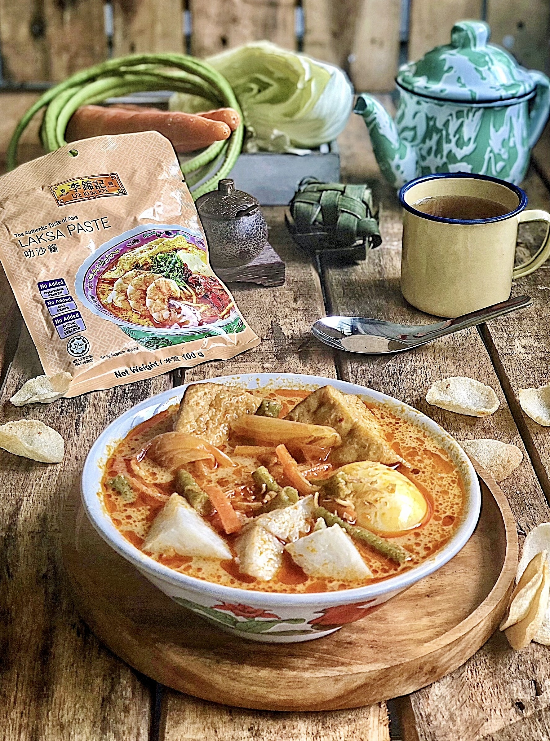Sayur Lodeh Laksa with Ketupat