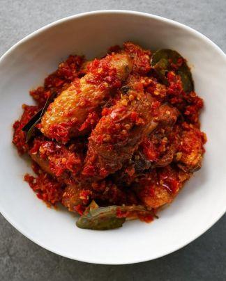 sambal balado fish hari raya celebration food recipe