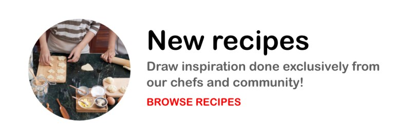 RedMan New Recipes