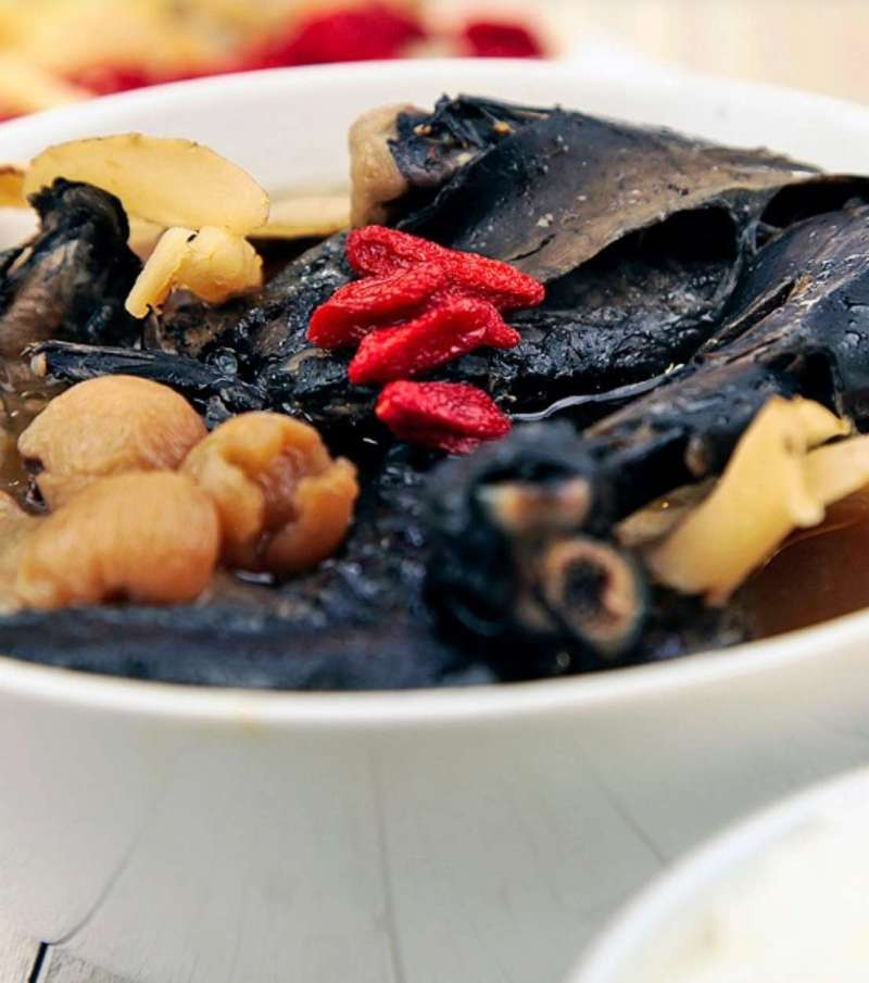 Nutritious Black Herbal Chicken Soup