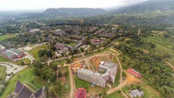 Foto udara Universitas Andalas