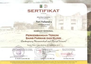 2011-09-24 - PANITIA SEMNAS SAINS FARMASI DAN KLINIK