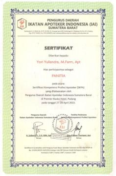 2013-04-28 - PANITIA SKPA IAI SUMBAR