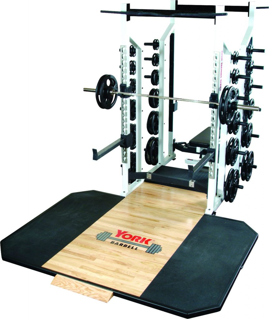 Sts Double Half Rack York Barbell