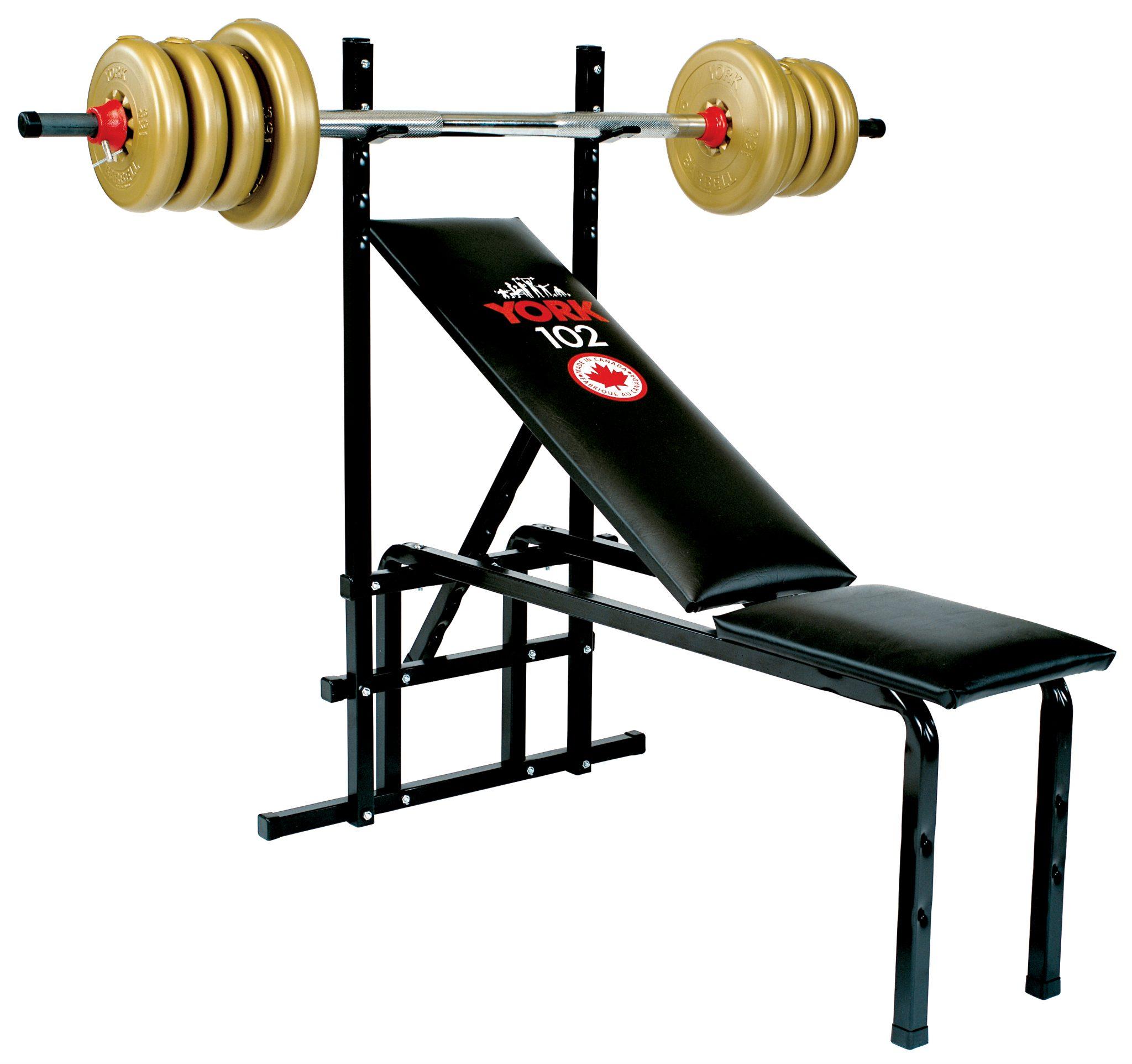 102 Adjustable Bench Press Machine Home Gym Equipment