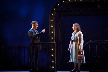 Brighton Rock 2018 Jacob James Beswick as Pinkie and Sarah Middleton as Rose..