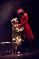 Brighton Rock 2018 Marc Graham as Fred and Gloria Onitiri as Ida