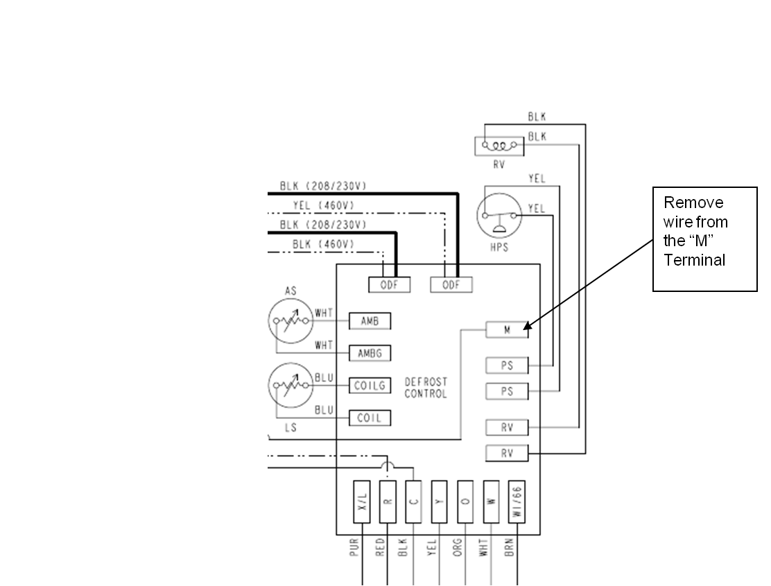 Defrost Control Heat Pump Wiring Diagram Defrost Wiring Diaram For Vehile Free