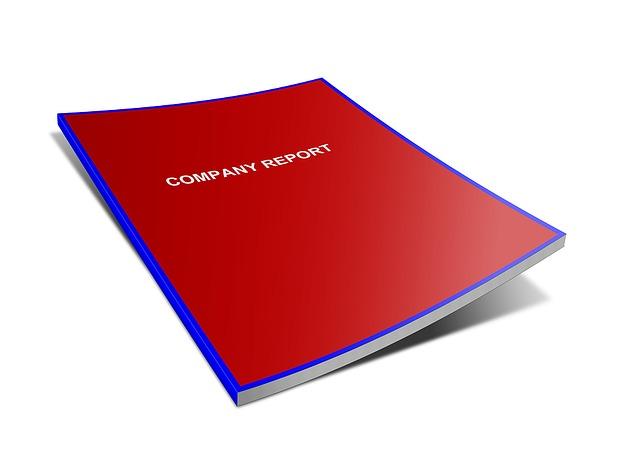 Company reports need careful proofreading