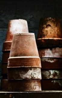 Pick up vintage flower pots at York's many car boot sales
