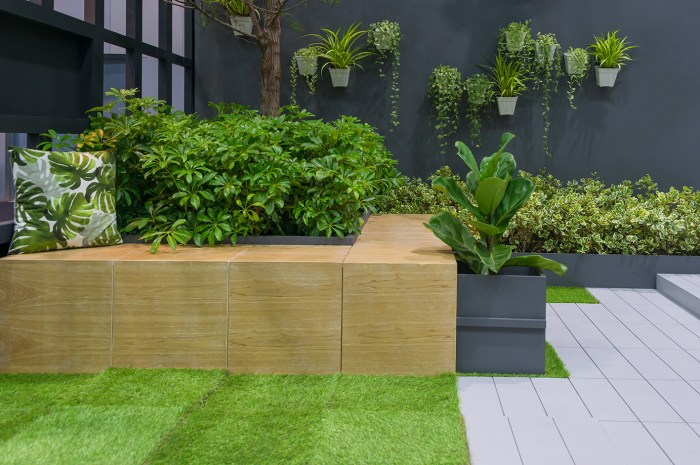 Zoned garden structures can be part of your garden design