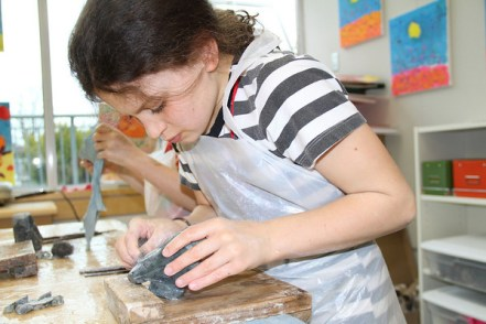 Gr. 3 Soapstone Carving