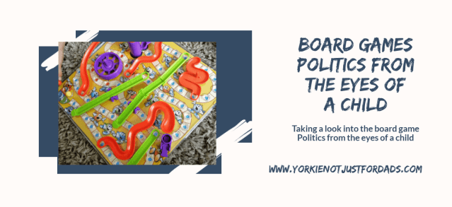 Feature image for the post board game politics from the eyes of a child
