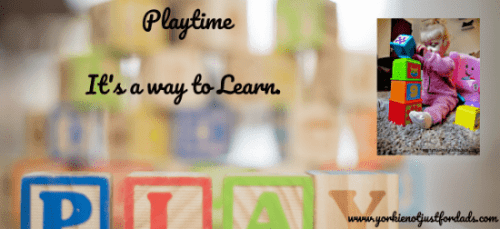Featured image for the post playtime it's a way to learn