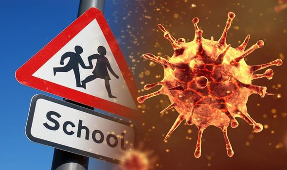 An image from an Express article regarding School Closures being planned because of the Coronavirus.