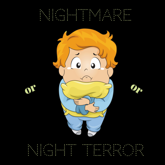Nightmares or Night Terrors. Have you ever experienced either, read on to find out more.