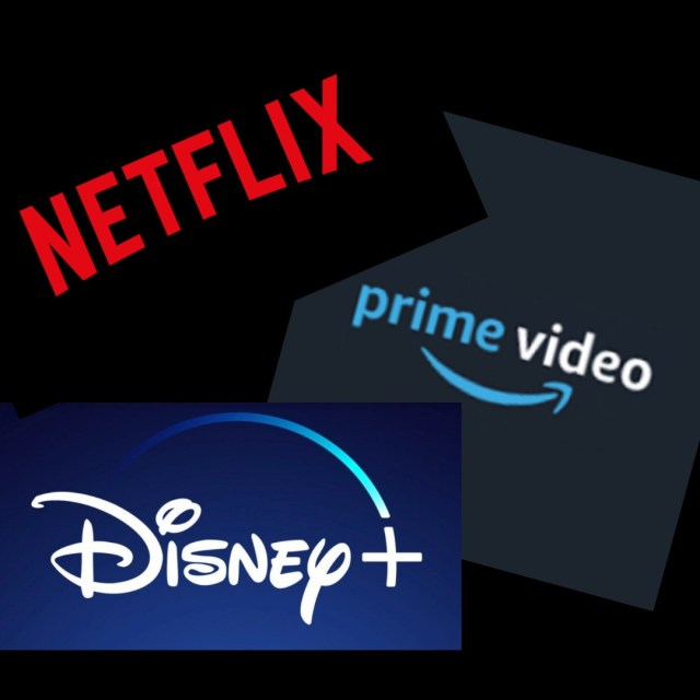 An image to Showcase 3 of the popular streaming apps - Netflix, Prime Video and Disney plus. A form of self care I can do on my own or with my partner.
