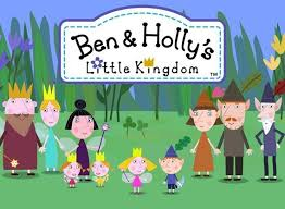 Ben and Holly's Little Kingdom. I know pig would recommend.