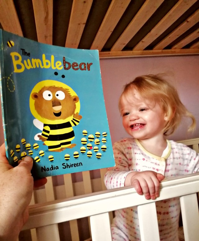 My daughters bedtime story as part of bedtime Routine for toddlers.