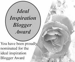 The image of The Ideal Inspiration Blogger Award.
