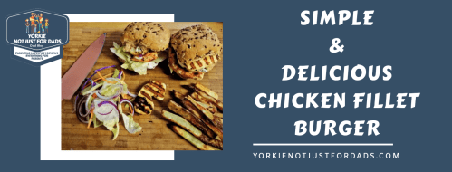 Featured image for the post simple and delicious chicken fillet burger