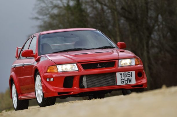 The First TME edition Mitsubishi Lancer Evolution was the first ever registered Evo in the UK?