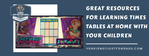 Great resources for learning times tables at home