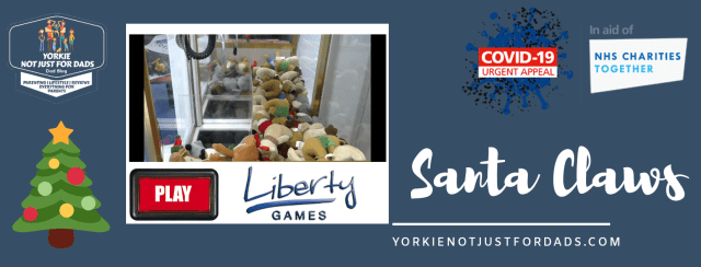 Santa Claws by Liberty Games - Helping Raise funds for NHS Charities Together this Christmas.