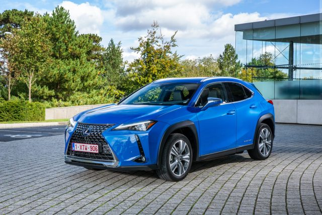 Lexus UX300e is the car that lexus has released as a printable template so you can Build your own Lexus.