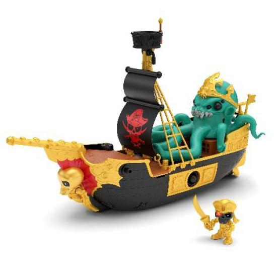 Pirates, Mythical Beasts, Adventures and a Boat, what more is there for your little matey to enjoy than the Treasure X Sunken Gold Sunken Ship. Another of my Boys Toys for Christmas features.
