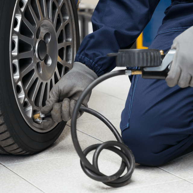 Checking your vehicles Tyre Pressures is one check to make sure your vehicle is Ready for the Road.