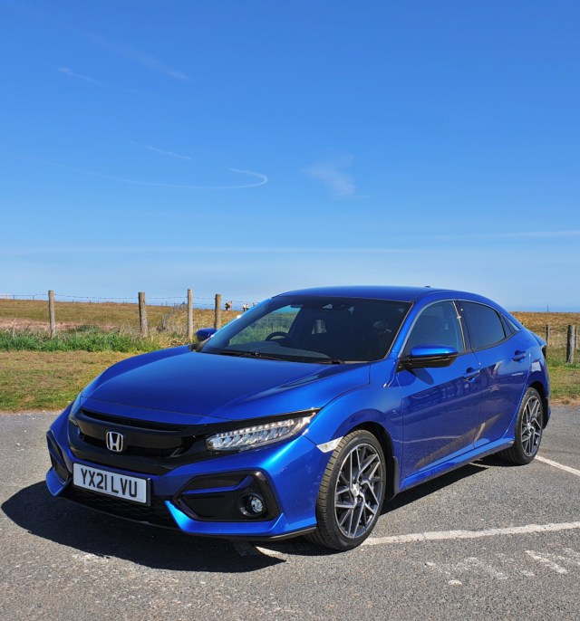 Here is the 2021 Honda Civic SR that I had to review.