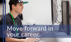 Move forward in your career