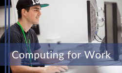 Computing for work courses