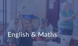 English & maths courses