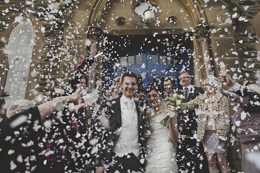 Frantic Wedding Confetti