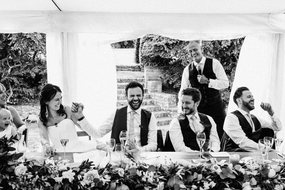 Hampshire Documentary Wedding Photographer