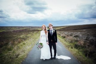 Benji and Emma's wedding. Photo:
