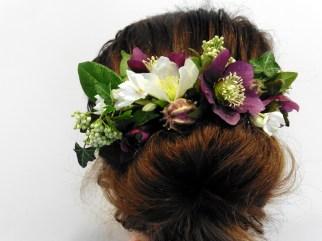 Hellebore Flower Comb
