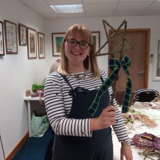 Willow Star Garland Workshop