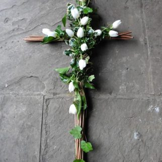 Biodegradable Willow Cross
