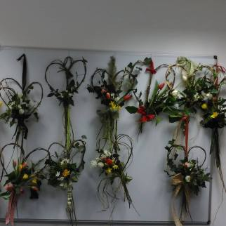 Willow Heart Workshop at Choice Baskets 2017