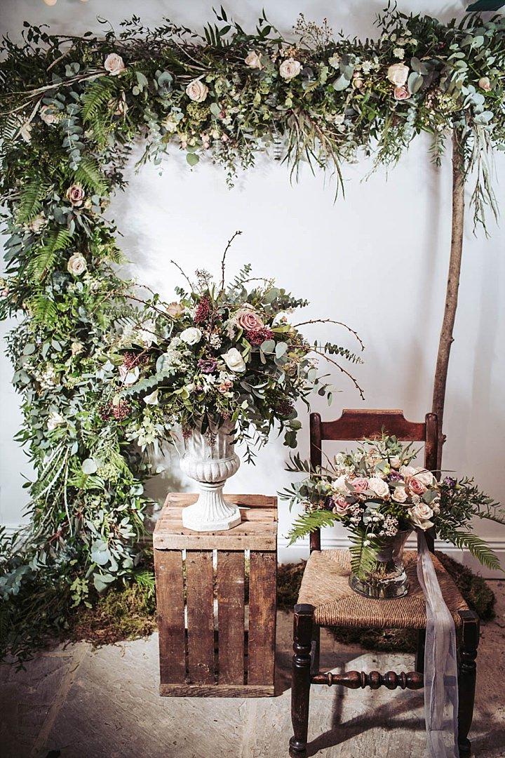 Boho Weddings – Wild Rustic Bohemian Wedding Inspiration With Macramé Details In Brontë Country