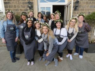 Hen party, Flower crown, workshop